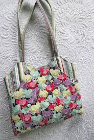 115 best Geta's Bag Patterns images on Pinterest | Backpacks ... & Quilted purse with front pockets - the best idea for a gift Adamdwight.com