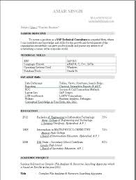 sap sd resume wonderful sap fresher resume format for professional resume  examples with sap fresher resume