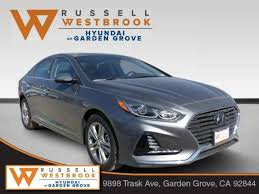 hyundai of garden grove. New 2018 Hyundai Sonata Limited W/SULEV Sedan In Garden Grove Of B