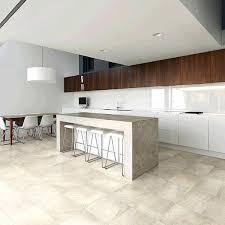 contemporary kitchen floor tile designs. view in gallery porcelain tile with the look of travertine contemporary kitchen floor designs