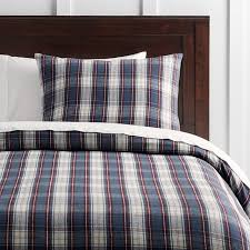 incredible flannel plaid duvet cover sweetgalas with regard to plaid flannel duvet cover