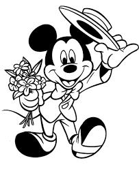 ディズニーぬりえ ミッキーミニー ミッキーマウス ぬりえ