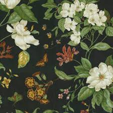 upholstery fabric garden images black