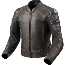 sentinel rev it akira vintage leather motorcycle jacket