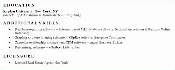 Free Sample Real Estate Resume Examples Visit To Reads