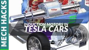 how tesla car works how induction motor works how tesla car motor works full details