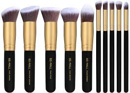 bs mall tm makeup brush set premium synthetic kabuki cosmetics foundation blending blush