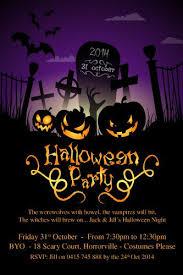 Pumpkin Invitations Template Pumpkin Grave Halloween Invitation Template For Halloween Party