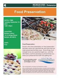 Presentation Foods Food Preservation Presentation Antrim Conservation District