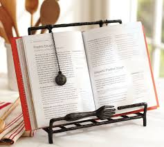 Book Display Stand Staples Cucina Recipe Holder Pottery Barn 72