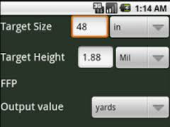 Mil Dot Chart Pdf Mil Dot Calculator Free 1 0 Free Download