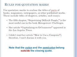Book Titles In Quotes Best OST48 T EXT E DITING A PPLICATIONS Chapter 48 Other Punctuation