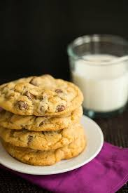 chocolate chip cookies and milk.  And Sea Salt Cashew And Milk Chocolate Chip Cookies  Browneyedbakercom Intended And E