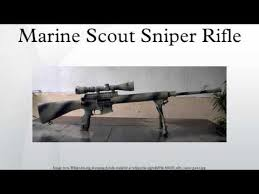 Marines Scout Sniper Requirements Marine Scout Sniper Rifle