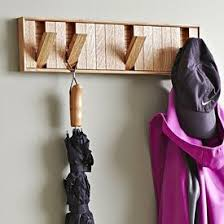 Wood Coat Rack Plans HiddenHook Coat Rack Woodworking Plan Gifts Decorations Office 24
