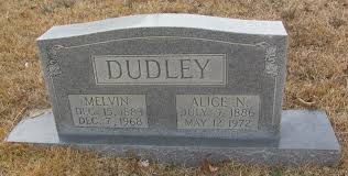 Melvin Dudley (1883-1968) - Find A Grave Memorial