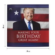 Talking Trump Birthday Card Wishes You A Happy Birthday In Donald Trumps Real Voice Surprise Someone With A Personal Birthday Greeting From The