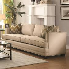 Living Room Furniture Stores Near Me Buy Rosario Sofa With Shelter Style Arms By Coaster From Www