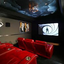 basement home theater.  Home To Basement Home Theater