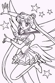 Small Picture Sailor Moon Coloring Pages for Young Girls Coloring Pages
