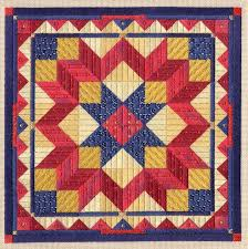 43 best Canvas images on Pinterest | Needlework, Bargello ... & American Quilt Collection - Liberty Star, Laura Perin Adamdwight.com