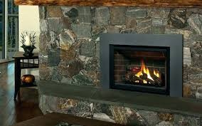 wood burning fireplace with gas starter how