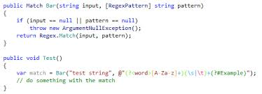 Regex Pattern Interesting Regular Expressions Assistance Help JetBrains Rider