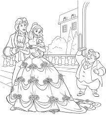 Beauty And The Beast Coloring Pages Forcoloringpagescom