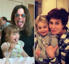They were married from 1971 to 1982 and have two children together. Ozzy Osbourne And Wife Sharon Osbourne S Grandkids Meet The Family