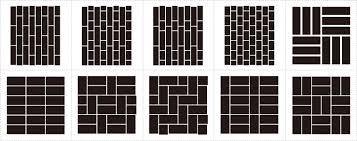 シームレス 煉瓦パターンeps Trismegistuslabo トリメギ