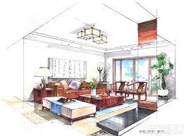Interior Design Bedroom Sketches Drawing Interior Design Sketches  Enchanting Style Bedroom Or Other Drawing Interior Design