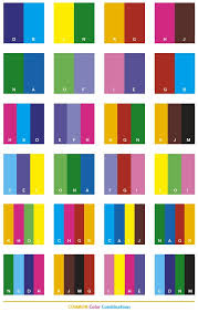Color Schemes   Common color schemes, color combinations, color palettes  for print .