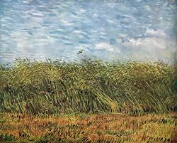 best vincent van gogh various paintings images  vincent van gogh wheat field a lark summer 1887 paris