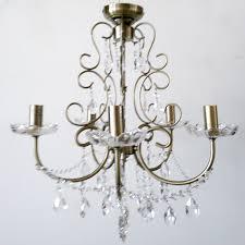5 way victorian style chandelier ceiling light antique brass clearance litecraft