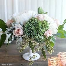 Paper Flower Centerpieces At Wedding Diy Fresh Flower Centerpieces Nebbio Info