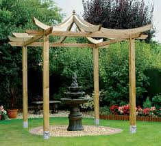 Japanese Garden Structures Be Inspired By The Japanese Pergola Kit From Grange And Create A