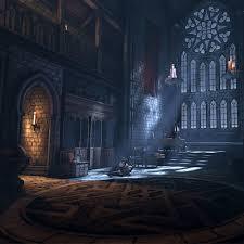 Gothic Interior, Angelo Person on ArtStation at https://www.artstation.