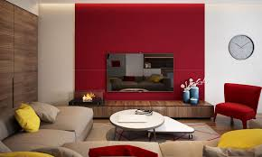living room ideas with red accent wall. chic red accent wall living room ideas bedroom with small u