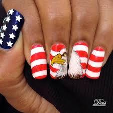 29 fantastic fourth of july nail design