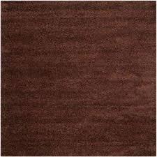 milan brown 7 ft x 7 ft square area rug