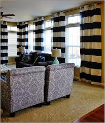 Navy And White Curtains Color Block Curtains White And Gray Color Block Curtains Window