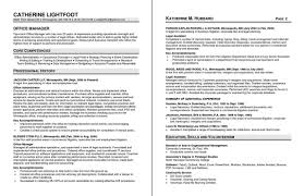 medical office manager resume samples core competencies