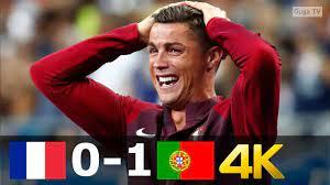 FRANCE vs PORTUGAL 0-1 - EURO 2016 Final UHD 4K - YouTube