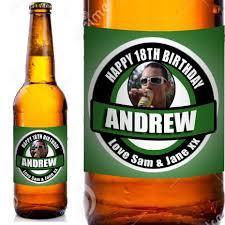 green photo personalised beer