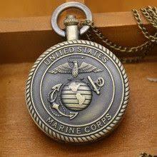 antique bronze big united states marine corps pocket watch men antique bronze big united states marine corps pocket watch men military large vintage pocket watch