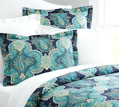 chic idea paisley duvet cover queen linden sham pottery barn covers yellow mackenna bedding