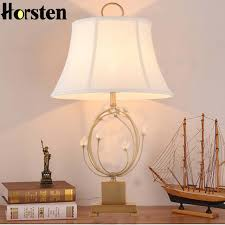 Horsten European Modern Simple Table Lamp Bedroom Bedside Lamp Hotel Room Crystal  Table Lamps Home Decoration