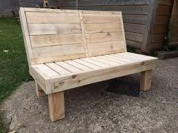 pallet furniture garden. Handcrafted Pallet Beefy Bench Furniture Garden U