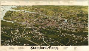 burleigh's map of stamford connecticut ()