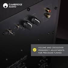 Audio SX120 | 70 Watt Active Subwoofer | Black
